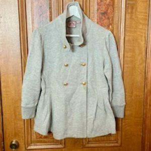 Juicy Couture Light Gray Double Breasted JKT/Coat